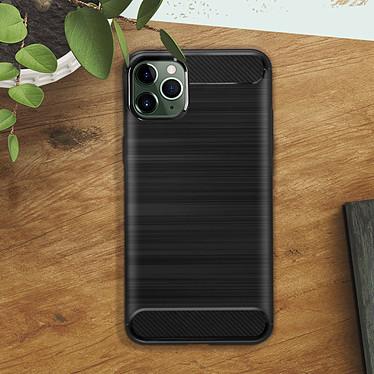 Acheter Avizar Coque Noir Finition Carbone pour Apple iPhone 11 Pro