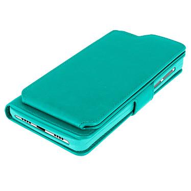 Avizar Etui folio Vert pour Compatibles avec Smartphones de 5,3 à 5,5 pouces pas cher