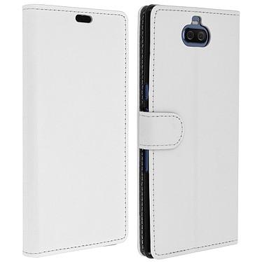 Avizar Etui folio Blanc pour Sony Xperia 10 Plus Etui folio Blanc Sony Xperia 10 Plus