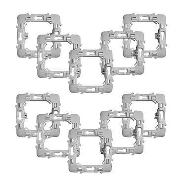 Fibaro Lot de 10 adaptateurs pour montage de modules Walli sur façades Schneider Lot de 10 adaptateurs pour montage de modules Walli sur façades Schneider