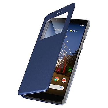 Avizar Etui folio Bleu Nuit pour Google Pixel 3A XL pas cher