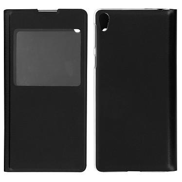 Avizar Etui folio Noir pour Sony Xperia E5 pas cher