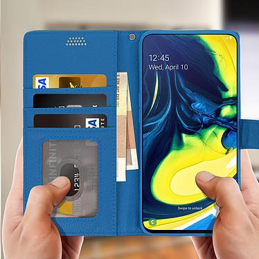 Acheter Avizar Etui folio Bleu pour Samsung Galaxy A80