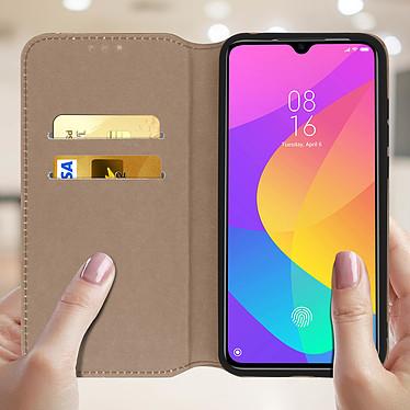 Acheter Avizar Etui folio Dorée pour Xiaomi Mi 9 Lite