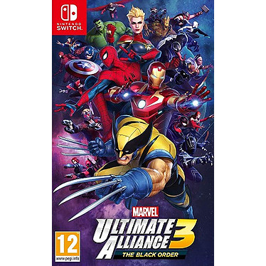 Marvel Ultimate Alliance 3 The Black Order (SWITCH) Jeu SWITCH Combat 12 ans et plus