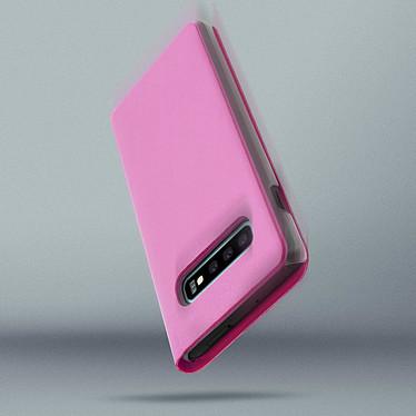 Avis Avizar Etui folio Rose Portefeuille pour Samsung Galaxy S10 Plus