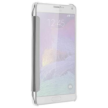 Avis Avizar Etui folio Argent pour Samsung Galaxy Note 4