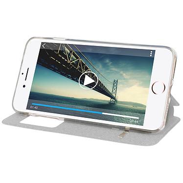 Avis Avizar Etui folio Noir pour Apple iPhone 7 Plus , Apple iPhone 8 Plus