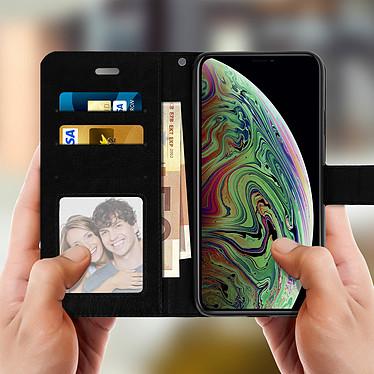 Avis Avizar Etui folio Noir pour Apple iPhone XS Max
