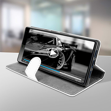 Avis Avizar Etui folio Blanc pour Sony Xperia 10 Plus