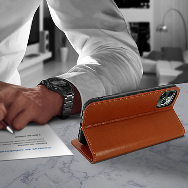 Avis Avizar Etui folio Camel pour Apple iPhone 11 Pro Max