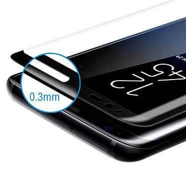 Avis Avizar Film verre trempé Noir pour Samsung Galaxy S8 Plus