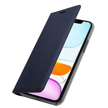 Avizar Etui folio Bleu Nuit pour Apple iPhone 11 pas cher