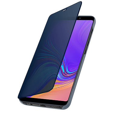 Avizar Etui folio Bleu pour Samsung Galaxy A9 2018 Etui folio Bleu Samsung Galaxy A9 2018