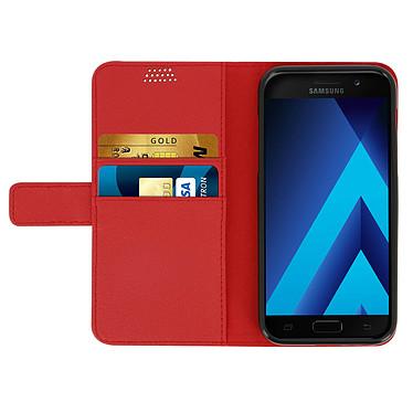 Acheter Avizar Etui folio Rouge pour Samsung Galaxy A3 2017