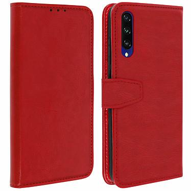 Avizar Etui folio Rouge pour Xiaomi Mi A3 Etui folio Rouge Xiaomi Mi A3
