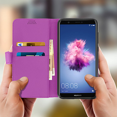 Acheter Avizar Etui folio Violet pour Huawei P Smart