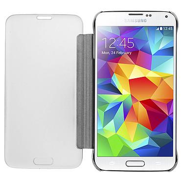 Acheter Avizar Etui folio Argent pour Samsung Galaxy S5 , Samsung Galaxy S5 New
