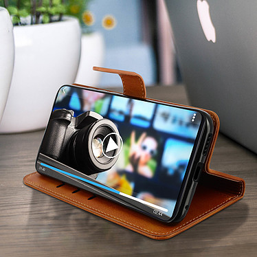 Acheter Avizar Etui folio Camel Éco-cuir pour Xiaomi Mi 9T , Xiaomi Mi 9T Pro