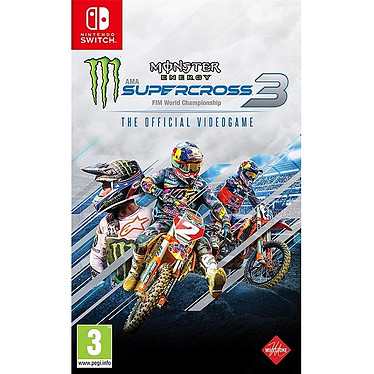 Monster Energy Supercross 3 (SWITCH) Jeu SWITCH Course