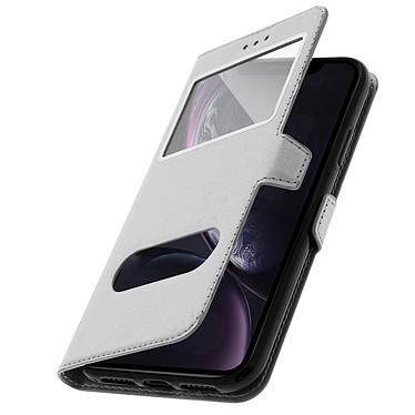 Avizar Etui folio Argent pour Apple iPhone XR pas cher
