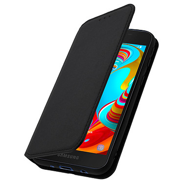 Avizar Etui folio Noir pour Samsung Galaxy A2 Core pas cher