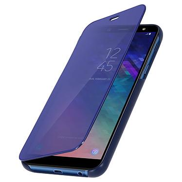 Avizar Etui folio Bleu pour Samsung Galaxy A6 Plus pas cher