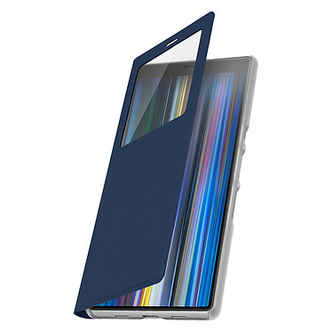 Avizar Etui folio Bleu Nuit pour Sony Xperia 10 pas cher