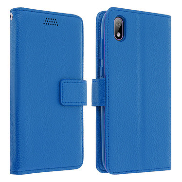 Avizar Etui folio Bleu pour Huawei Y5 2019 , Honor 8S Etui folio Bleu Huawei Y5 2019 , Honor 8S