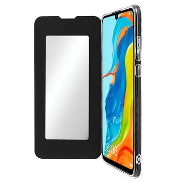 Avizar Etui folio Noir pour Huawei P30 Lite , Honor 20S , Huawei P30 Lite XL Etui folio Noir Huawei P30 Lite , Honor 20S , Huawei P30 Lite XL