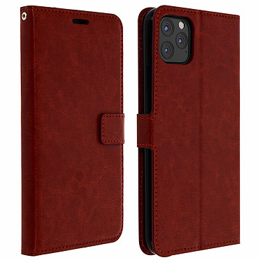 Avizar Etui folio Marron pour Apple iPhone 11 Pro Etui folio Marron Apple iPhone 11 Pro