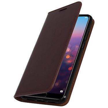 Avizar Etui folio Marron pour Huawei P20 Pro Etui folio Marron Huawei P20 Pro