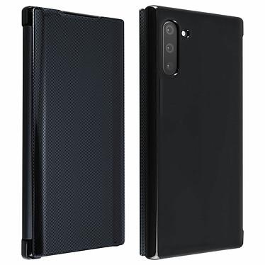 Avizar Etui folio Noir Translucide pour Samsung Galaxy Note 10 Etui folio Noir translucide Samsung Galaxy Note 10