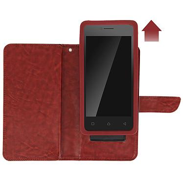 Avis Avizar Etui folio Marron pour Smartphones de 5.5' à 6.0'
