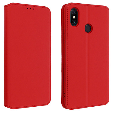 Avizar Etui folio Rouge pour Xiaomi Mi Max 3 Etui folio Rouge Xiaomi Mi Max 3