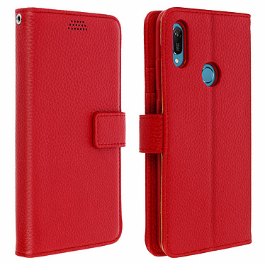 Avizar Etui folio Rouge pour Honor 8A , Huawei Y6 2019 , Huawei Y6S Etui folio Rouge Honor 8A , Huawei Y6 2019 , Huawei Y6S