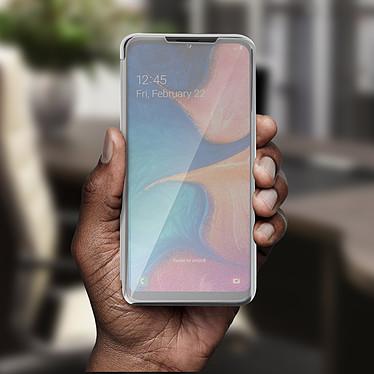 Avis Avizar Etui folio Argent pour Samsung Galaxy A20e