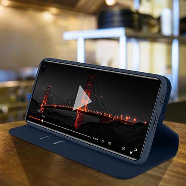Avis Avizar Etui folio Bleu pour Samsung Galaxy S20 Ultra