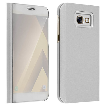 Avizar Etui folio Argent pour Samsung Galaxy A5 2017 pas cher