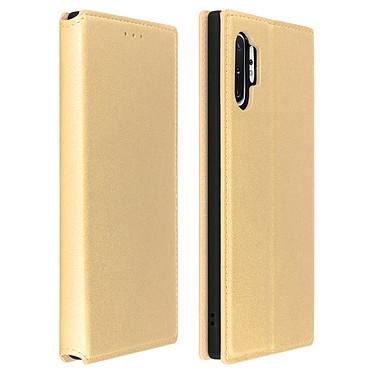 Avizar Etui folio Dorée Éco-cuir pour Samsung Galaxy Note 10 Plus Etui folio Dorée éco-cuir Samsung Galaxy Note 10 Plus
