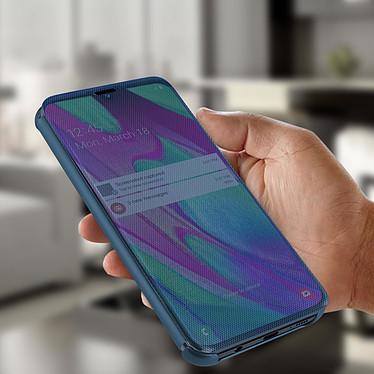 Avis Avizar Etui folio Bleu pour Samsung Galaxy A40