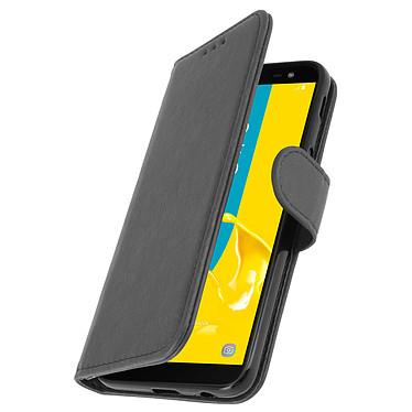 Avizar Etui folio Gris pour Samsung Galaxy J6 pas cher