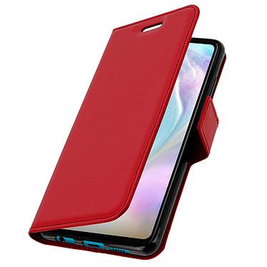 Avizar Etui folio Rouge pour Huawei P30 pas cher