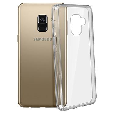 Avizar Coque Transparent Bi-matières pour Samsung Galaxy A8 pas cher