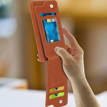 Avis Avizar Etui folio Camel pour Compatibles avec Smartphones de 5,0 à 5,3 pouces