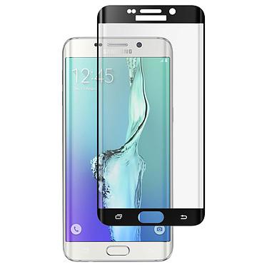Avizar Film verre trempé Noir pour Samsung Galaxy S6 Edge Plus Film verre trempé Noir Samsung Galaxy S6 Edge Plus