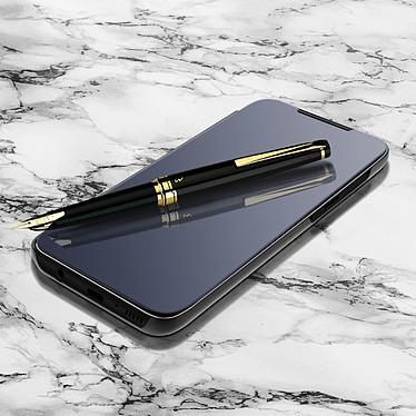Avizar Etui folio Noir pour Samsung Galaxy A70 pas cher