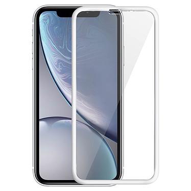 Avizar Film verre trempé Blanc pour Apple iPhone XR Film verre trempé Blanc Apple iPhone XR