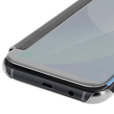 Avizar Etui folio Argent pour Samsung Galaxy J3 2017 pas cher