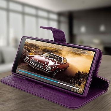 Avis Avizar Etui folio Violet pour Sony Xperia 10